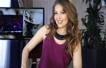 Thalía: En su concierto los fans por poco la desnudan