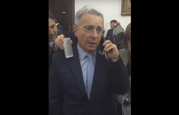 Video: La llamada de Uribe a Santos