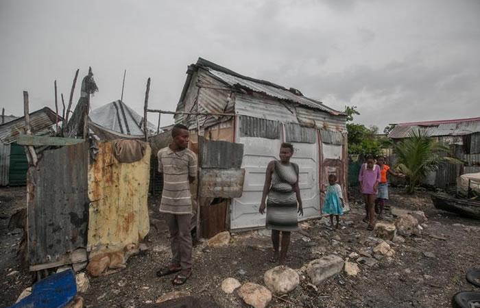 Huracán Matthew tocó tierra en Haití con fuerza