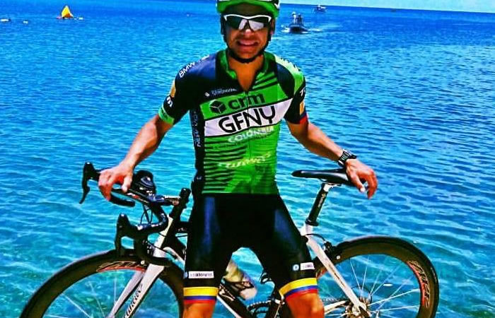 David Guete va por el challenge de Aruba