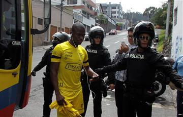 Eliminatorias: Jugador de Ecuador será detenido por la Policía