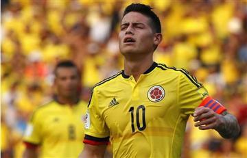 James Rodríguez, descartado para el partido ante Paraguay