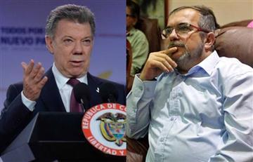 Santos anunció límite para cese al fuego y 'Timochenko' respondió
