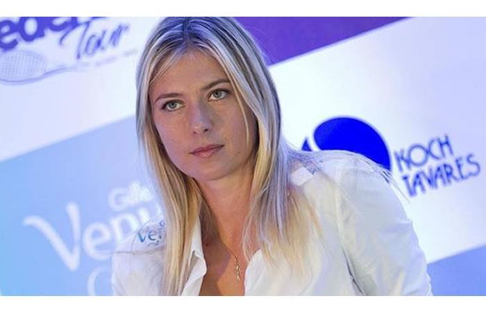 Sharapova: el TAS reduce 15 meses su sanción