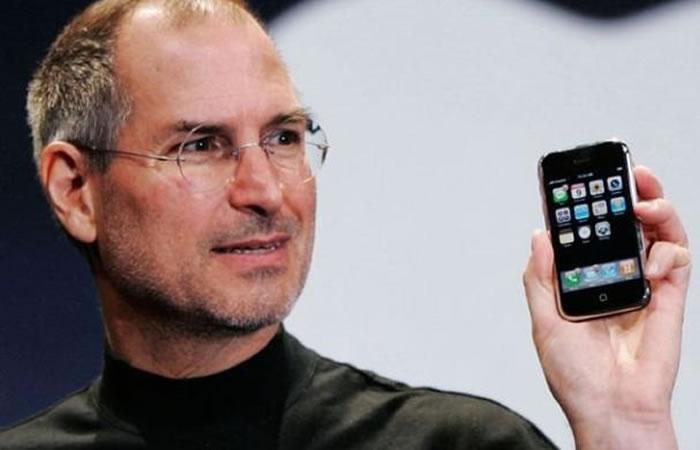 Steve Jobs tenía muy claro el futuro tecnológico. Foto: EFE