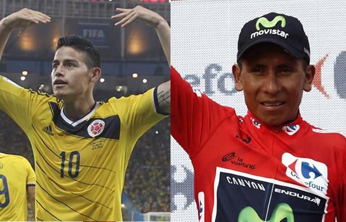 James Rodríguez le envía poderoso mensaje a Nairo Quintana