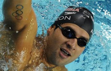 Omar Pinzón logra medalla de Bronce en Mundial de Natación