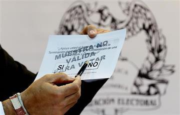 Plebiscito: ¿Es posible anular la votación y repetirla?