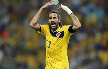Selección Colombia: Yepes envió un mensaje de aliento a la 'tricolor'