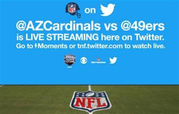 Twitter: Mira la transmisión en vivo del partido de la NFL