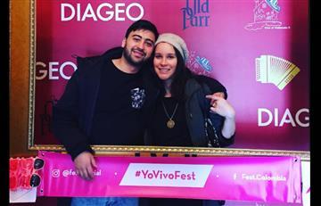 Variel Sánchez y Estefanía Godoy son padres