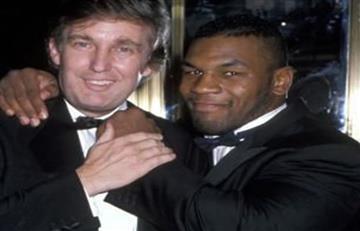 A Donald Trump casi le rompe la cara... MIKE TYSON