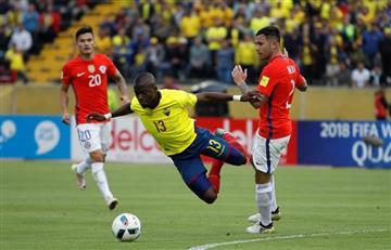 Ecuador vs. Chile: jugador fingió una lesión para evitar ser arrestado
