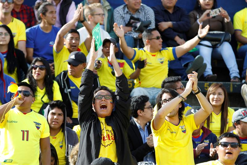 En FOTOS y VIDEO, la goleada de Ecuador a Chile