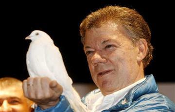 """Juan Manuel Santos: """"Colombianos este premio es de ustedes"""""""