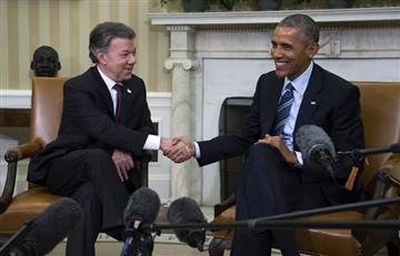"""Obama: """"El Comité Nobel tomó la decisión correcta"""" al elegir a Santos"""