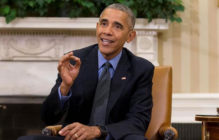 En 2009, el presidente Barack Obama recibió un millón de dólares que invirtió en organizaciones benéficas. Foto: EFE