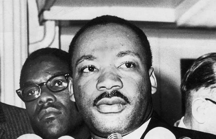 En 1964, Martin Luther King recibió 54 millones de dólares y parte de ello lo donó a los grupos que apoyaban la igualdad de derechos. Foto: EFE