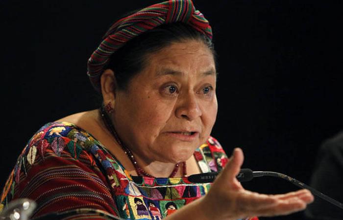 En 1992, Rigoberta Menchú creó la fundación para los derechos humanos dirigida a todos los indios de América, en México. Foto: EFE