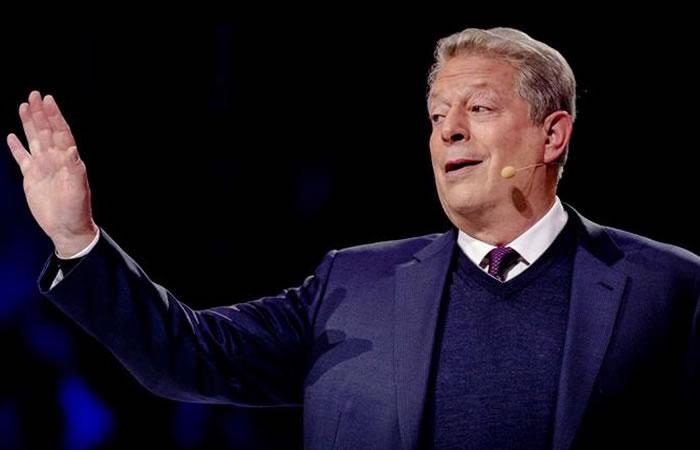 En 2007, Al Gore recibió US $1.4 millones y lo donó a la Alianza para la Protección Climática. Foto: EFE