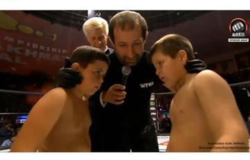 UFC para niños existe y se transmite en Chechenia