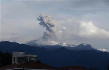 Volcán Nevado del Ruiz: Epicentro de un temblor de 4,4 grados