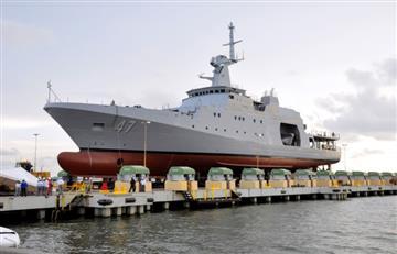 Colombia envía un buque con ayuda a Haití