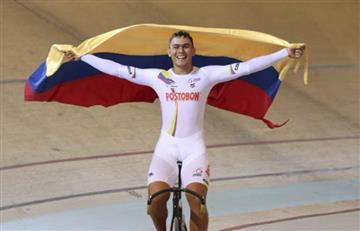 Fabián Puerta otorga un oro en ciclismo a Colombia