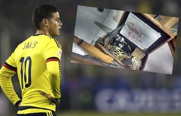 James Rodríguez es amenazado de muerte