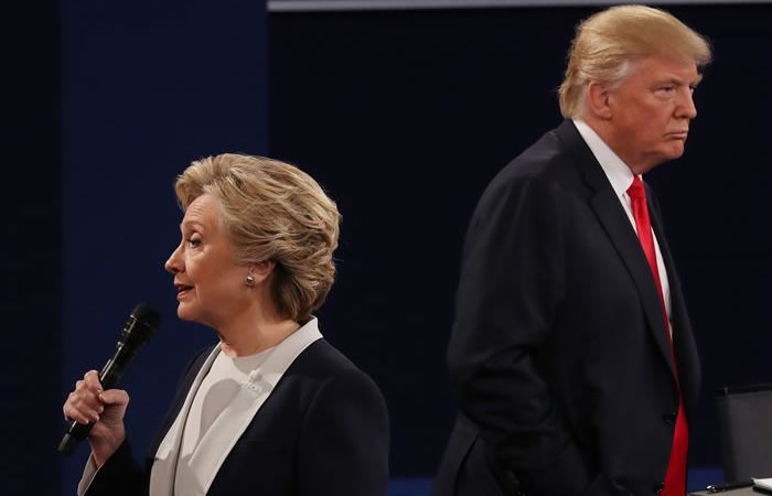 Donald Trump y Hillary Clinton: ¿Quién ganó el segundo debate?