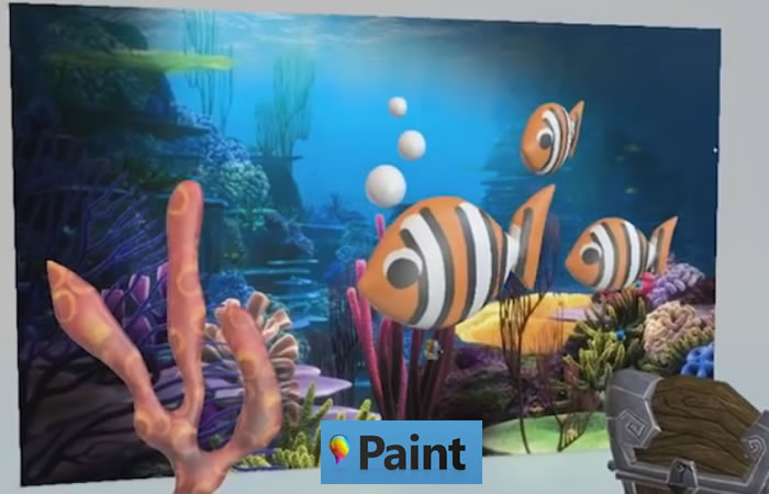 Paint se renueva para Windows 10. Foto: Youtube