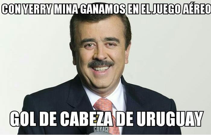 Colombia vs. Uruguay: Los memes que dejó el empate de la 'tricolor'