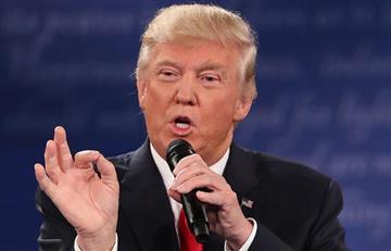 Donald Trump sale al paso tras un escándalo machista
