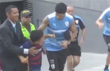 Eliminatorias: La humildad de Luis Suárez con el pueblo colombiano
