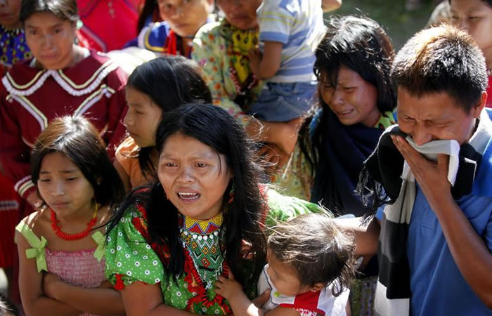 En Dabeiba mueren siete indígenas por deslizamineto
