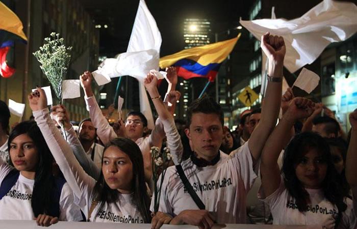 Marcha por la paz: Colombia se moviliza este 12 de octubre