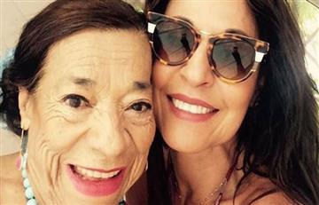 Amparo Grisales sufre por la muerte de su madre
