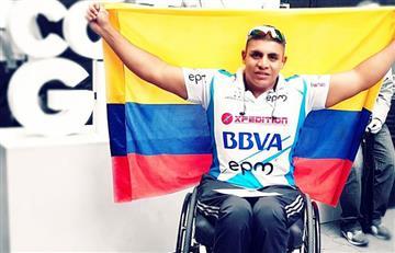 Francisco Sanclemente gana Maratón Paralímpica de Buenos Aires