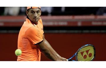 Nick Kyrgios es multado por la ATP