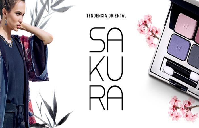 Sakura, los trazos orientales que marcan la tendencia