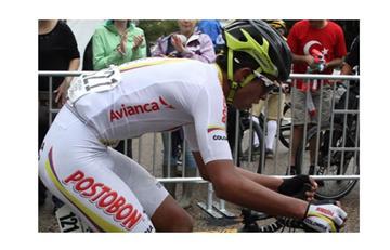 Ciclista colombiano logra tremenda actuación en Mundial de Doha