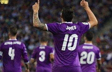 James Rodríguez listo para regresar a la Liga de Campeones