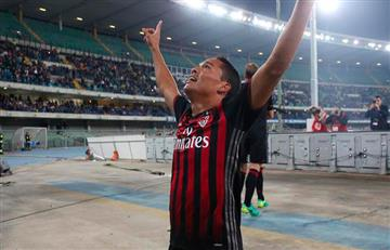 Carlos Bacca elogiado por prensa argentina