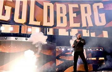 Goldberg regresó a la WWE y enfrentará a Brock Lesnar