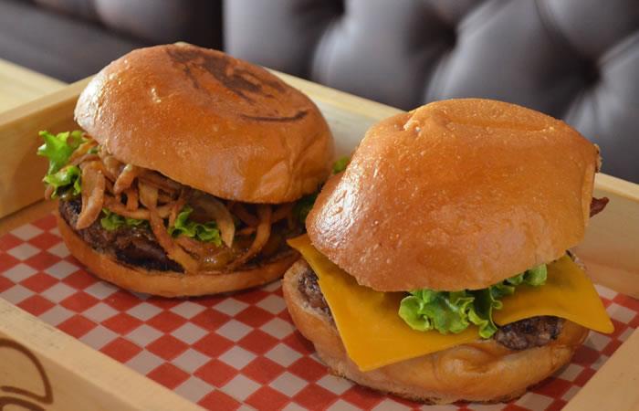 Hamburguesa crispy onions burger