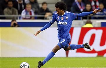 Juan Guillermo Cuadrado con un golazo salvó a la Juventus