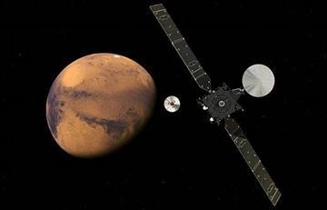 Marte: ExoMars entrará en la órbita del planeta rojo
