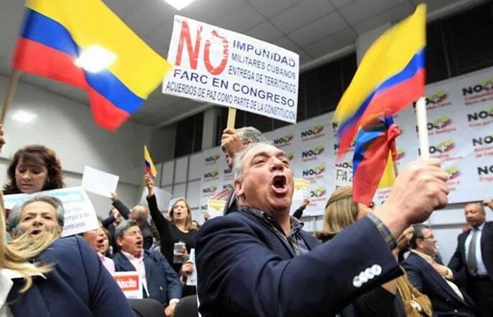 Partidarios del No marcharán el 29 de octubre
