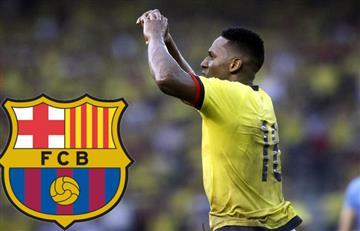 Yerry Mina firmó un preacuerdo con el Barcelona de España