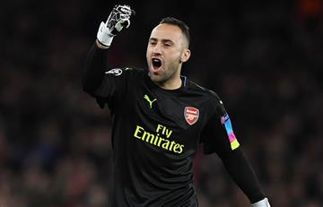 Arsenal con David Ospina en cancha, ganó y goleó en Champions League